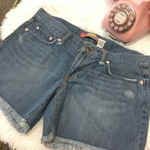 Old navy distressed shorts